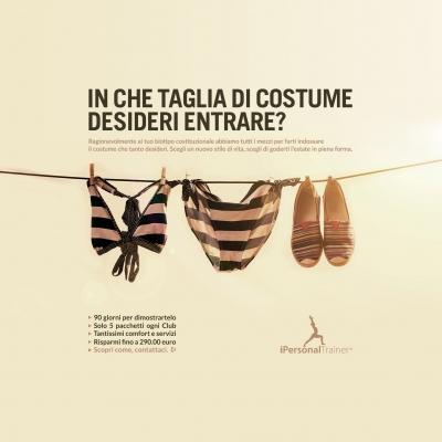 Promo iPersonalTrainer Costume